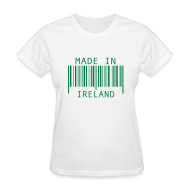 Women's T-Shirts ~ Women's T-Shirt ~ Made in Ireland
