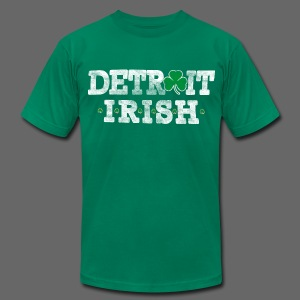 Detroit Irish - Men's Fine Jersey T-Shirt