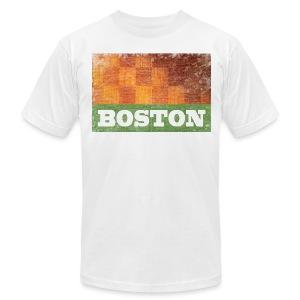 Old Boston Parquet - Men's Fine Jersey T-Shirt