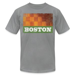 Old Boston Parquet - Men's T-Shirt by American Apparel