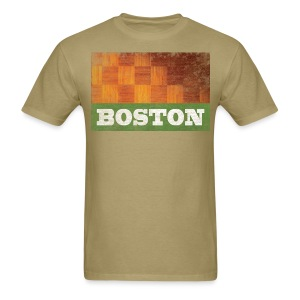 Old Boston Parquet - Men's T-Shirt
