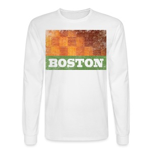 Old Boston Parquet - Men's Long Sleeve T-Shirt