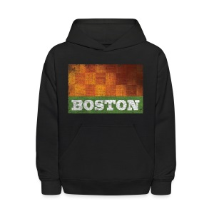 Old Boston Parquet - Kids' Hoodie
