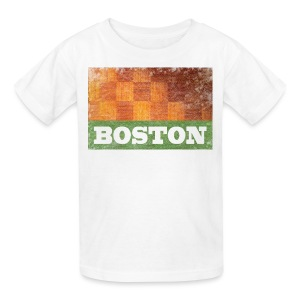 Old Boston Parquet - Kids' T-Shirt