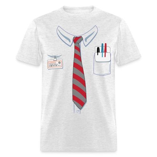 Men's T-Shirt - work,tie,office