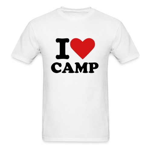 I love camp - Men's T-Shirt