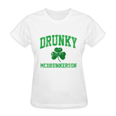 Drunky McDrunkerson Women's T-Shirts