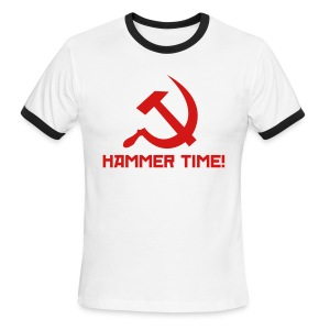 Hammer Time! [M - Ringer] - Men's Ringer T-Shirt
