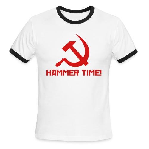 Hammer Time! [M - Ringer] - Men's Ringer T-Shirt