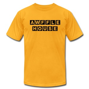 Awffle House Yellow [M] - Men's T-Shirt by American Apparel