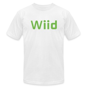 Wiid White [M] - Men's T-Shirt by American Apparel