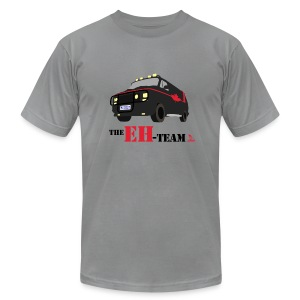 The Eh Team Men's Slate AA Tee - Men's T-Shirt by American Apparel