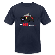 T-Shirts ~ Men's T-Shirt by American Apparel ~ The Eh Team Men's Navy AA Tee