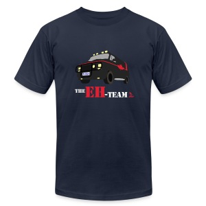 The Eh Team Men's Navy AA Tee - Men's T-Shirt by American Apparel