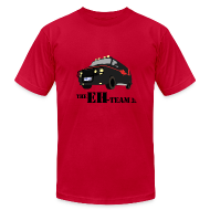 T-Shirts ~ Men's T-Shirt by American Apparel ~ The Eh Team Men's Red AA Tee