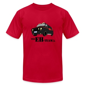 The Eh Team Men's Red AA Tee - Men's T-Shirt by American Apparel