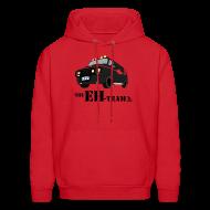 Hoodies ~ Men's Hoodie ~ The Eh Team Men's Red Hoodie