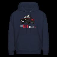 Hoodies ~ Men's Hoodie ~ The Eh Team Men's Navy Hoodie