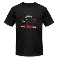 T-Shirts ~ Men's T-Shirt by American Apparel ~ The Eh Team Men's Black AA Tee