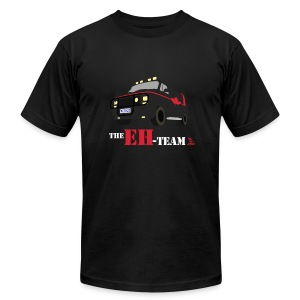 The Eh Team Men's Black AA Tee - Men's T-Shirt by American Apparel
