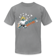 T-Shirts ~ Men's T-Shirt by American Apparel ~ Stalock Saves Men's Slate AA Tee