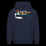 Hoodies ~ Men's Hoodie ~ Niemi T-Rexin Men's Navy Hoodie