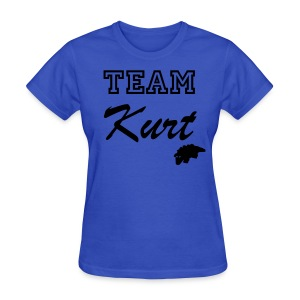 Team Kurt (Girls) - Women's T-Shirt