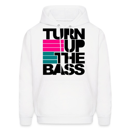 Turn up the Bass hoodie  - Men's Hoodie