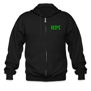 HPI Hooded Sweatshirt- Zip up - Men's Zip Hoodie