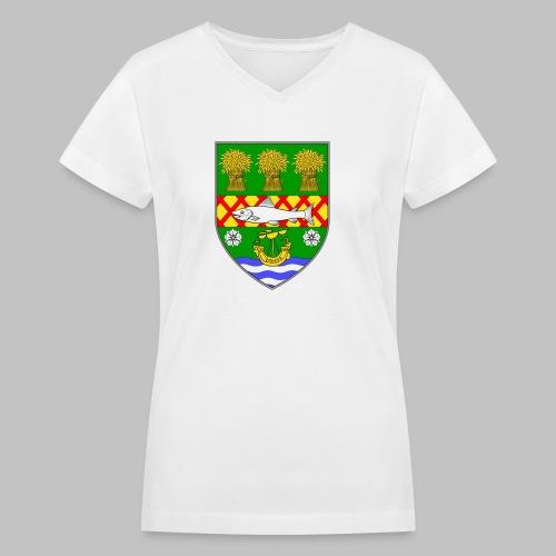 County Down - Women's V-Neck T-Shirt