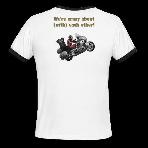 Men's L/W Ringer T-Back-neon-wingwheelie crazy - Men's Ringer T-Shirt