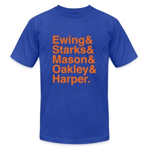 New York Knicks (1994) - Men's T-Shirt by American Apparel