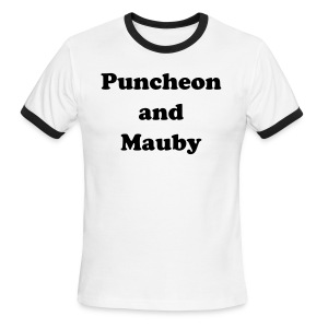 PUNCHEON AND MAUBY - IZATRINI.com - Men's Ringer T-Shirt