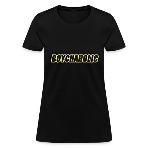 Boychaholic - Women's standard weight - Women's T-Shirt