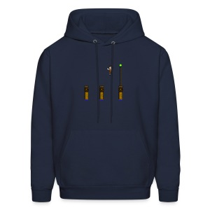 Green Light Jump - Men's Hoodie