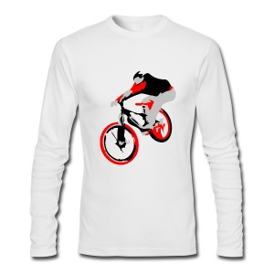 Mountain Bike Shirt - Ollie - Long Sleeve - Men's Long Sleeve T-Shirt by Next Level