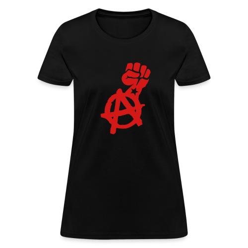 Anarchist Fist Women's Tee Shirt - Women's T-Shirt