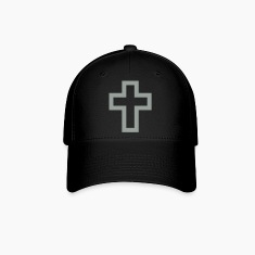 jesus cross Caps
