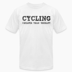 Cycling Cheaper Than Therapy T-Shirts