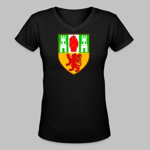 County Antrim - Women's V-Neck T-Shirt