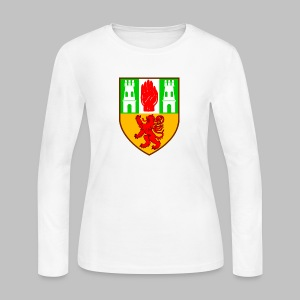 County Antrim - Women's Long Sleeve Jersey T-Shirt