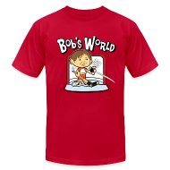 T-Shirts ~ Men's T-Shirt by American Apparel ~ Bob's World