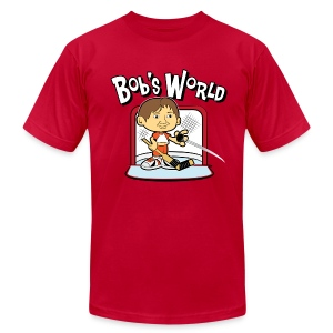 Bob's World - Men's Fine Jersey T-Shirt