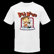 T-Shirts ~ Men's T-Shirt by American Apparel ~ Bob's World