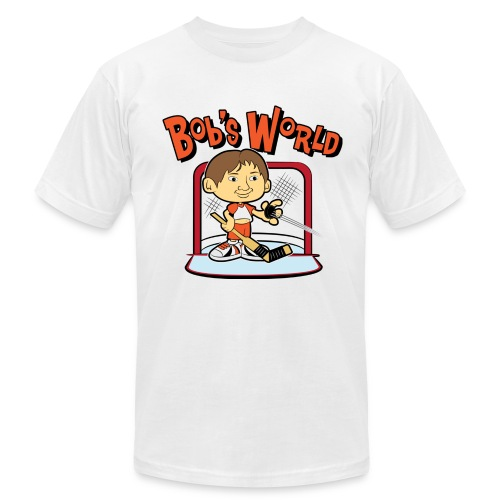 Bob's World - Men's T-Shirt by American Apparel