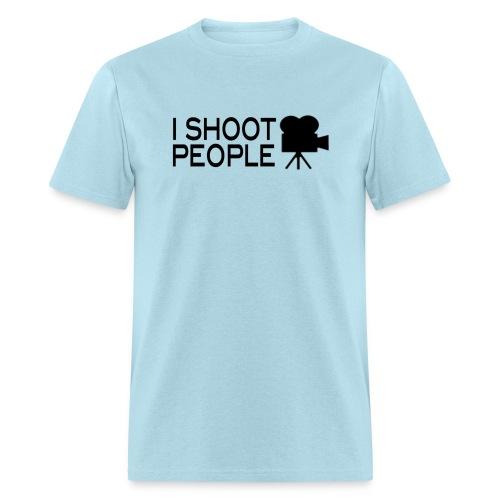 I•SHOOT•People Joke T-Shirt [mens] - Men's T-Shirt