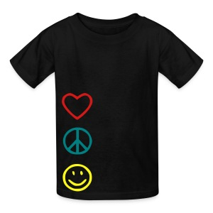 Love Peace Happines shirt - Kids' T-Shirt