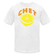 T-Shirts ~ Men's T-Shirt by American Apparel ~ Chet Men's American Apparel Tee