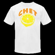 T-Shirts ~ Men's T-Shirt by American Apparel ~ Chet Men's American Apparel Tee