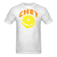 T-Shirts ~ Men's T-Shirt ~ Chet Men's Standard Weight T-Shirt